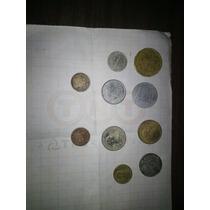 10 Monedas Extranjeras + 11 Monedas Antiguas De Regalo