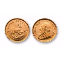 Moneda Oro Sudafrika Krugerrand 1/10 Onza 1982 Autentica Min
