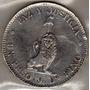 Moneda De Paraguay - (1889) - 1 Peso - 25 Gramos - Plata