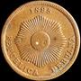 Chinacoins / Peru 2 Centavos 1895 Km# 188.2 Hermosa