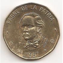 Republica Dominicana, Peso, 1997. Brillante Unc