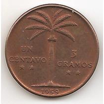 Republica Dominicana, Centavo, 1959. Sin Circular