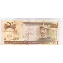 Republica Dominicana 20 Pesos Oro Pick 169 A !!!