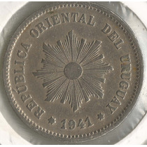 !!! Uruguay 1941 So 5 Centesimos Imperdible !!!