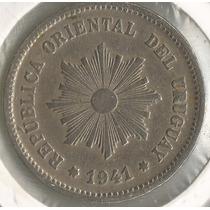 !!! Uruguay 1941 So 5 Centesimos Imperdible !!!