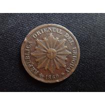 Monedas De Uruguay:1 Y 2 Centecimos (1869-1953)