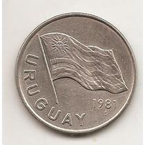 Moneda De Uruguay 5 Pesos Año 1981 Km#75