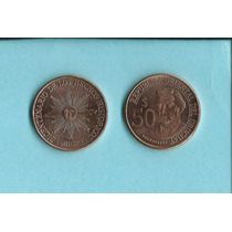 Moneda Uruguay Nueva Serie 50 Pesos S/c