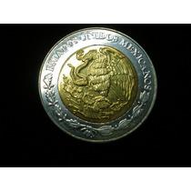 Moneda De 5 Pesos Mexicanos , Año 2006 , Excelente Estado