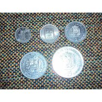 Lote De Coleccion Monedas De Venezuela