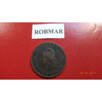 Robmar-15--argentina-1 Centavo De Patacon De Año 1889-oferta