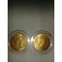 Argentino De Oro $5 Moneda De Coleccion 1881/ 1882