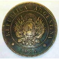 Coleccion Completa Patacones De 1882 A 1896 Argentina 2 Cts