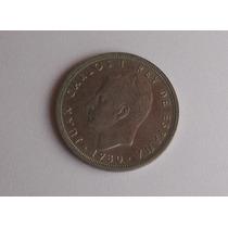 España Moneda 50 Pesetas Año 1980 Mundial 1982 Estrella 82