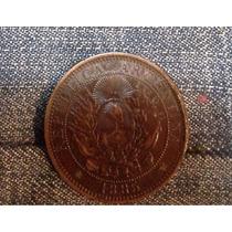 Antigua Moneda 2 Centavos 1885