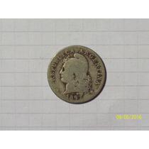 Argentina Niquel 20 Centavos 1897 Escasa