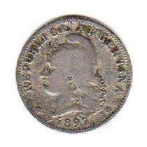 Monedas Argentina Niquel 20 Centavos Año 1897 Oferta