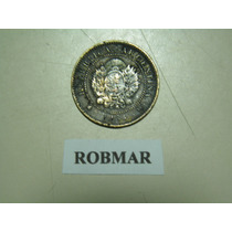Robmar-f62-1 Moneda De 1 Centavo De Patacon Del Año 1884