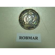 Robmar-f63-1 Moneda De 1 Centavo De Patacon Del Año 1890