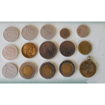 Lote De 15 Monedas Italianas
