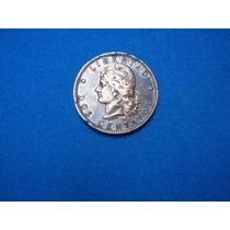 Moneda Argent. 2 Centavos De Patacón 1884 De Cobre Excelente