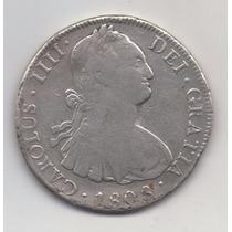 Numismatica1813. Arg Colonial Potosi. 8 Reales De 1808.