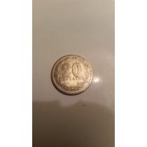 Moneda Argentina 20 Centavos Año 1928 Imperdible!!