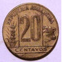 Moneda 20 Centavos - Año 1950 - Argentina