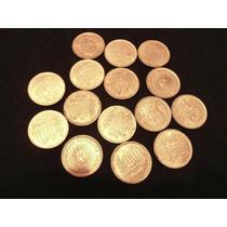 Lote De 15 Monedas De 10 Pesos Argentina Años 1976/77/78