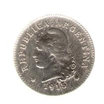 Argentina 10 Centavos 1915 Mb+