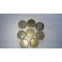 Lote De Ocho Monedas De 10 Centavos Argentina Años 50´s