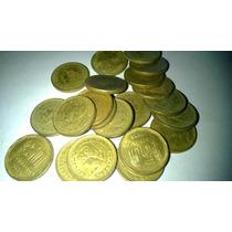 Lote De Veintiun Monedas Argentina De 50 Centavos Años 70´s