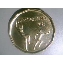 20 Pesos Mundial 78 Variante Año 1977