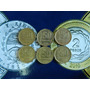 6 Monedas 50 Centavos Pesos Ley 1970 71 72 73 74 75
