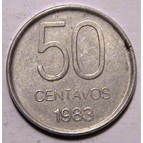 Moneda - 50 Centavos - Argentina - Año 1983