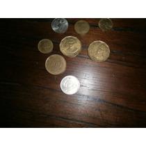 9 Monedas Antiguas De Argentina Y Uruguay! Para Colección