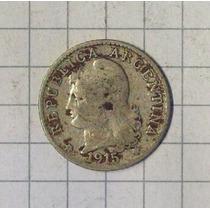 Argentina Niquel 5 Centavos 1915