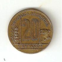 Moneda 20 Centavos Argentina 1950
