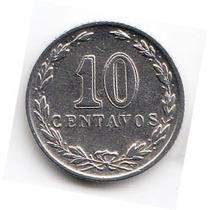 Argentina, 1933 - Moneda De 10 Centavos - Cj#120