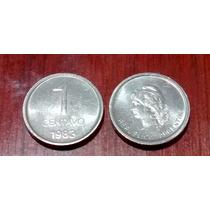 1983 - 1 Centavo - Aluminio - Sin Circular - Numis. San José
