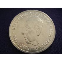 Moneda Argentina $2 - Jorge Luis Borges- 1999