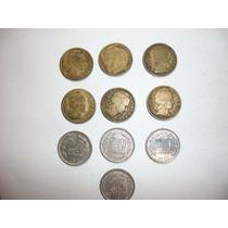 Monedas Antiguas Argentinas De 0.20 Ctv. De 1945 A 1960