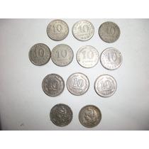 Monedas Argentinas Antiguas De 0.10 Ctv. De 1940 A 1959