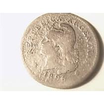 Argentina 10 Centavos 1896 Viejita Para Completar Faltante