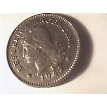 Argentina 10 Centavos 1942 Excelente