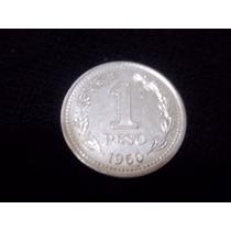 Moneda Argentina 1 Peso 1959/60 Excelente !!!