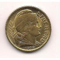 Moneda Argentina Bronce 10 Centavos Año 1942 Sin Circular