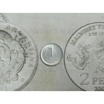Pesos Argentinos 1 Centavo 1983 Aluminio Muy Escasa !!!!