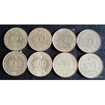 100 Pesos 1978 79 80 81 Se Vende Lote De 8 Monedas