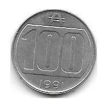 Moneda Argentina 100 Australes Año 1991 Sin Circular Oferta